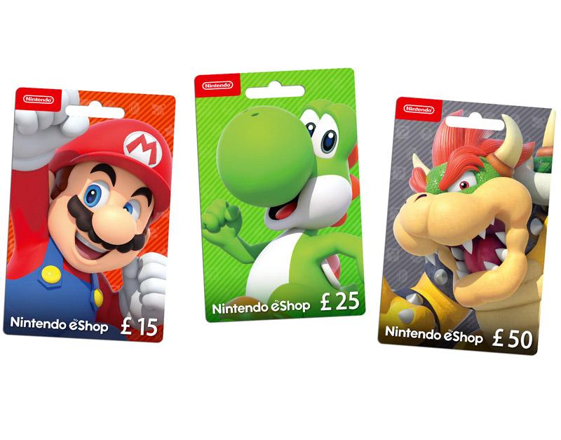 Nintendo eShop Gift Card, What Would You Gift, whatwouldyougift.com